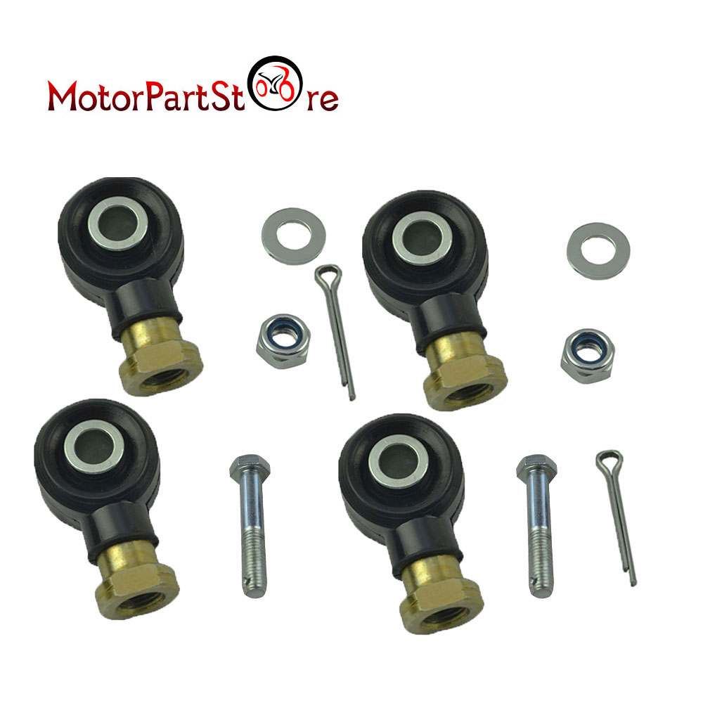 TWO SETS OF TIE ROD END KIT POLARIS SCRAMBLER 400 1997 1998 1999 2000 2002 2003
