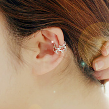 springtime new style Best selling hole-free stars ear clip earrings jewelry Korean version of the boutique girl recommended