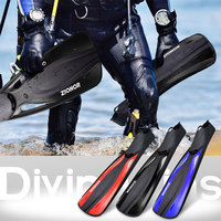 Snorkel Fins for Adult Silicone Swimming Diving Flippers Free Swim Training Mermaid Monofin Scuba Diving Equipment