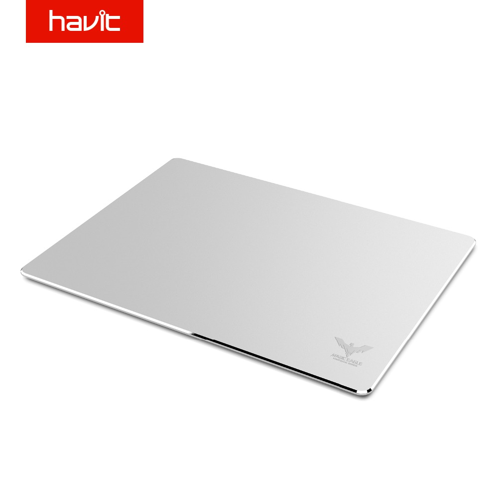 HAVIT Gaming Musemåtte Vandtæt Aluminium Overflade Gaming Mus Matte Slank Mousepad til MAC / PC Home Office Business HV-MP835