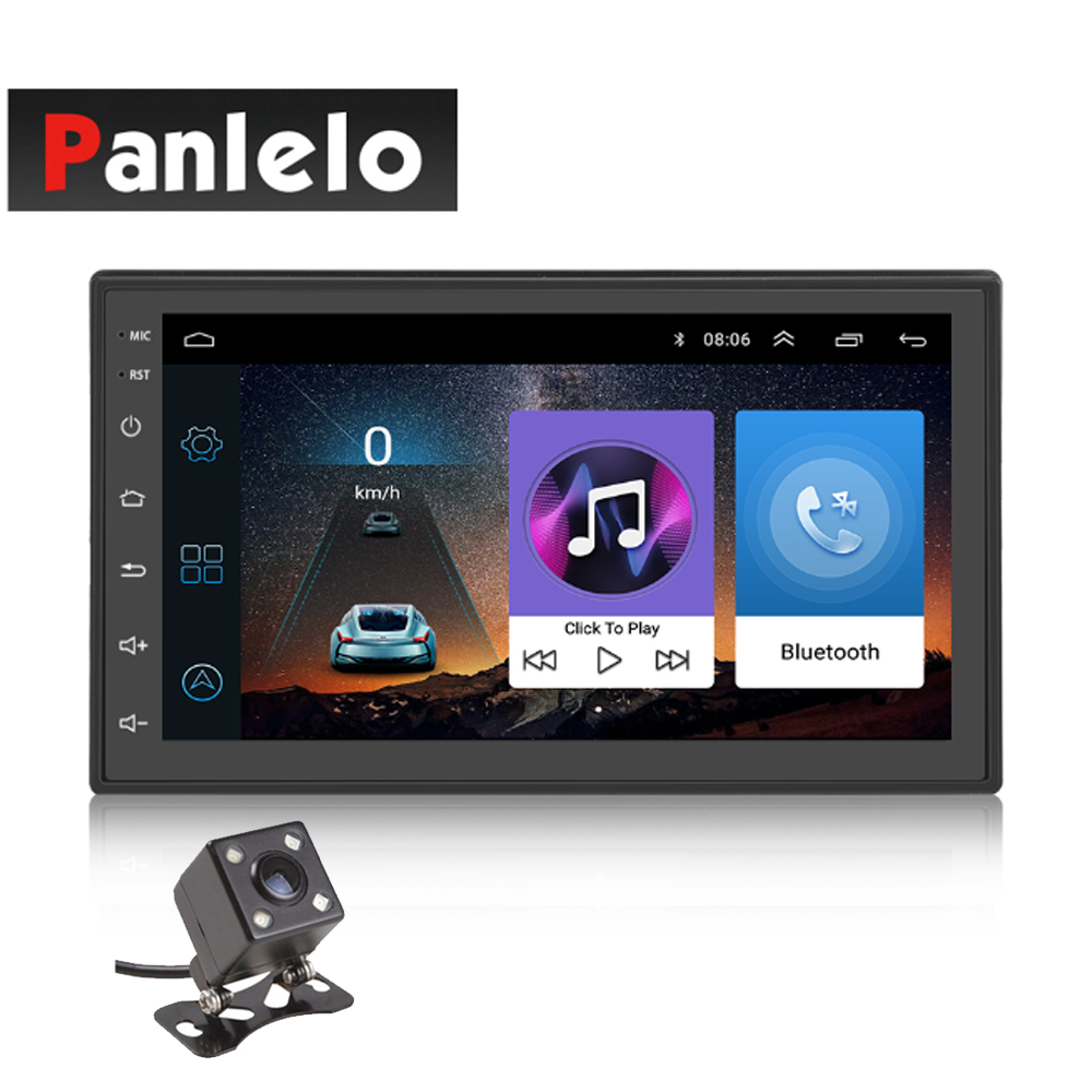 Panlelo S3 Android 6.0 2Din Car GPS Navigation Head Unit Car Stereo Mirror Link Auto Radio Quad Core 1GB RAM 16GB ROM 7inch USB panlelo s10 s10 plus 2 din android head unit car stereo gps navigation steering wheel control radio am fm 1gb 2gb ram 16gb 32g