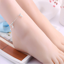 1PC Hot Summer Beach Ankle Infinite Silver Color Foot Jewelry Anklets Ball Style ankle bracelets for