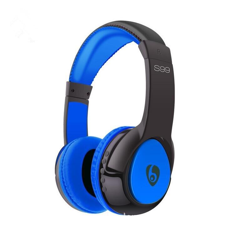 ФОТО Wireless Headband Bluetooth S99 Stereo Headset Noise Cancelling Headphone Audifonos Gamer Cuffie Earphone With Mic