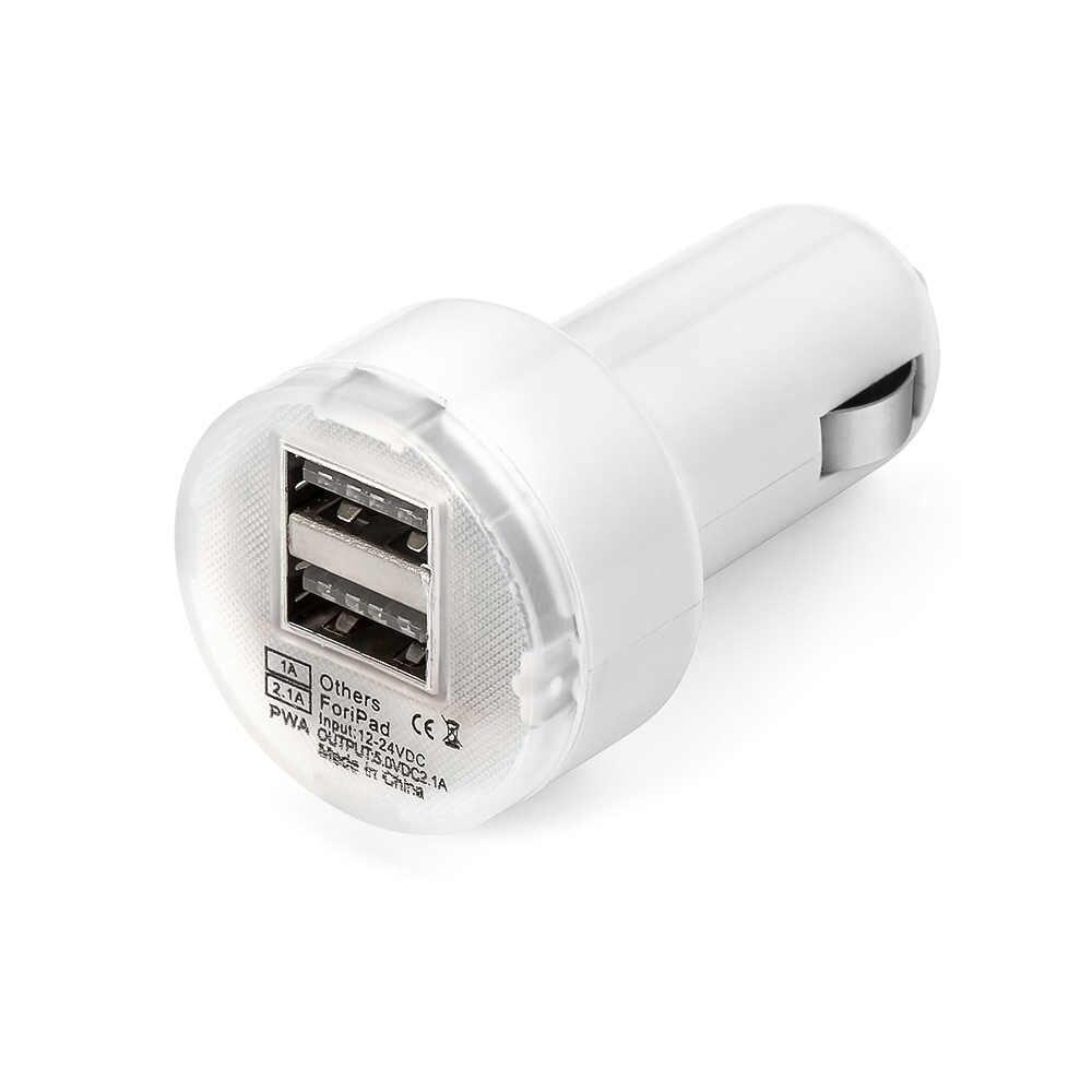 Teléfono del coche cargador Dual USB cargador de coche de salida cargadores para Iphone 6 s 6 plus para Samsung S6 S5 s4 teléfonos móviles tabletas