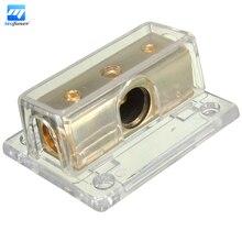 Nuevo Coche de $ Number Vías de Audio Estéreo Amplificador de Potencia/Divisor de Cable de Tierra Bloque de Distribución 1/0ga