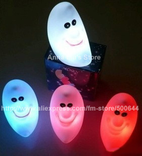 Colorful Moon Light/LED Moon Light/Smile LED Light & 10PCS/Lot Free Shipping
