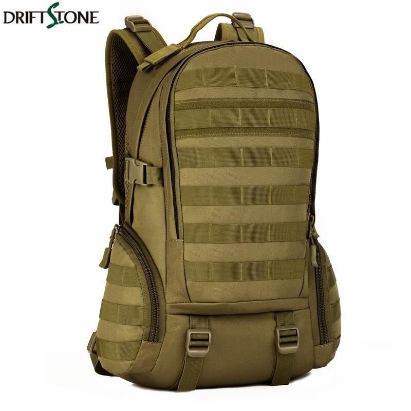 Camping sacs étanche Molle sac à dos militaire 3 P Gym école Trekking Ripstop boisé tactique équipement pour hommes 35L Nylon sac à dos