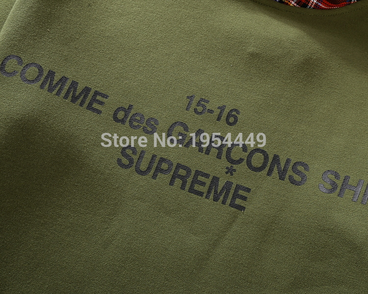 299f5a7404917 2015 NEW 15 16 COMME des GARCONS SHIRT SUPREME camouflage Scotland ...