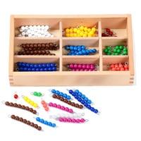 Montessori Colorful Checkerboard Beads Montessori Learning Math Toy Learn Addition Homeschool Kindergarten Math Make Ten C886T