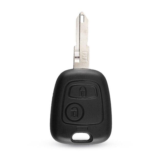 KEYYOU Shell Case Remote 2 Button For Citroen C1 C2 C3 C4 Citroen Saxo Xsara Picasso Berlingo Car Key Fob