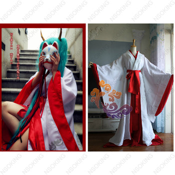Vocaloid Hatsune Miku Red-violet Ghost Nocturnal Women Kimono Cosplay Costume  Free Shipping