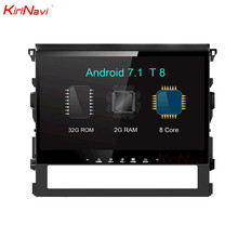 KiriNavi 10.2″ Octa Core Android 7.1 Car DVD GPS For Toyota Land Cruiser Navigation System Radio Stereo Audio Multimedia WIFI BT