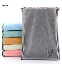 Cartoon 34x74cm Family 100% Luxury Cotton Face Towel Washcloth Highly Absorbent Extra Soft Hand Towels for Home Sport Gym Spa