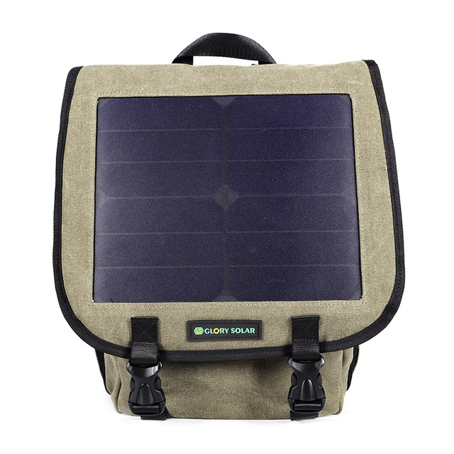 New Solar Backpacks Leisure  Mobile Phone Can Be Recharged Shoulder Bag Business Travel Bag Wholesale 5