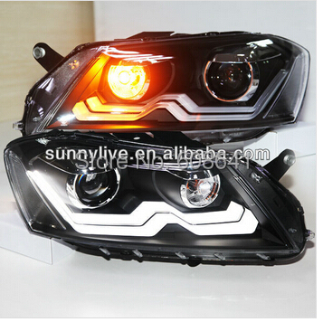 Pro svítilnu VW Passat B7 LED Head Lamp 2012-13 year European Version RIGHT HAND DRIVE