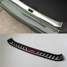 Car exterior accessories plastic rear bumper foot plate For NISSAN TEAN A 2016 abs car accessories car body kits exterior rear bumper foot plate 1pcs for 2018 mercedes benz vito
