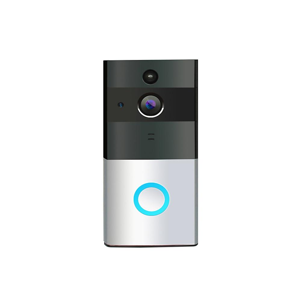 Low-power Security WiFi Doorbell with Camera Video Doorbell infrared night vision function Door intercom Support IOS Android APP