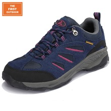THE FIRST OUTDOOR Lady Walking Shoes Mountain Climbing Shoes Women Sneakers Breathable Sport Waterproof Trekking Shoes 8441401