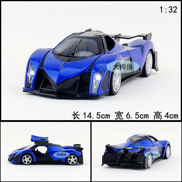 Подарок для ребенка 1 шт. 1:32 14.5 см нежный Raptor 16 концепции автомобиль спортивный автомобиль акустооптического сплава вытяните назад модели дети мальчик игрушка
