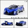 Regalo para bebé 1 unid 1:32 14.5 cm delicada Raptor 16 concepto vehículo acustóptica aleación tira del modelo del coche de deportes niño de los niños juguete