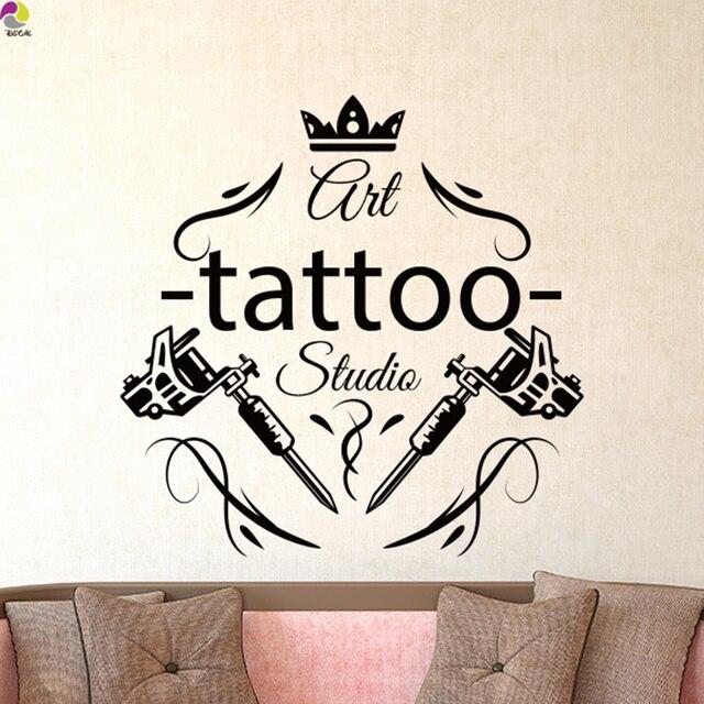 Tattoo Salon Wall Sticker Tattoo Parlor Shop Studio Tools
