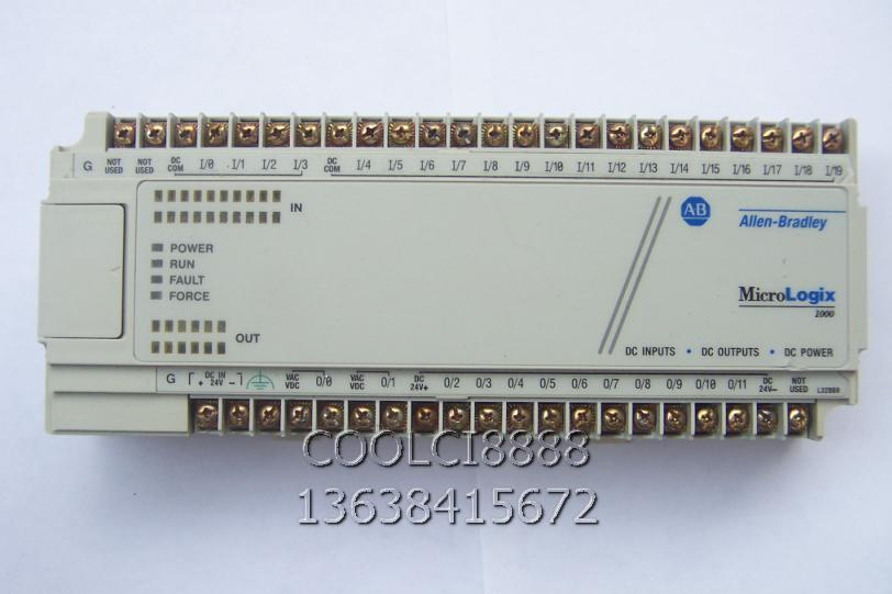 Original Rockwell AB 1761 L32BBB PLC programming cable and software ...