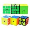 QiYi Mo Colmillo Ge SQ1 Cubo Mágico Speed Puzzle Cubo Cuadrado Cubos Del Rompecabezas Juguetes Educativos para Niños