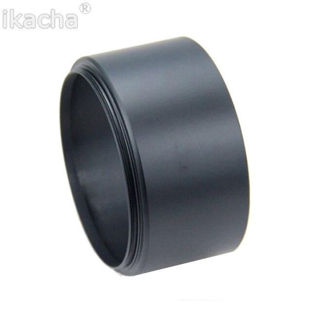 Pare-soleil en métal 49mm 49mm pare-soleil téléobjectif longue focale Standard pour Sony Canon Nikon Olympus Pentax appareil photo reflex livraison gratuite