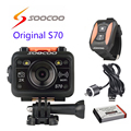 Free shipping!!Original SOOCOO S70 WiFi 2K Sport Action Camera with Watch Remote Control+Waterproof USB Cable+extra 1pcs battery