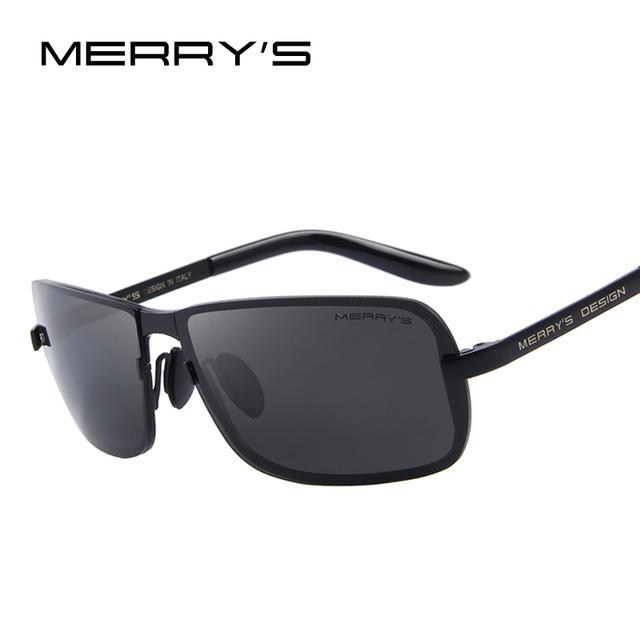 Merry's cr-39 óculos de sol da marca clássico homens hd polarized óculos de sol para homens design de moda luxo shades uv400 s'8722