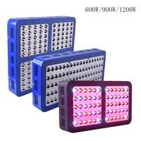 לגדול רפלקטור אור 600 W 900 W 1200 W LED צמח מקורה לגדול ספקטרום מלא אור הידרופוניקה