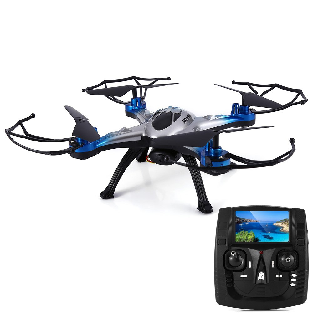 JJRC H29G Drone Dron 2.4GHz CF Mode 4 Channel 6-axis Gyro Helicopter 5.8G Real-time Transmission 2.0MP CAM Quadcopter Gifts Toy mini drone rc helicopter quadrocopter headless model drons remote control toys for kids dron copter vs jjrc h36 rc drone hobbies