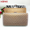 KN Mixed Design Luxury Crystal Women Tassel Pearl Evening Bags Day Clutch Small Purse Banquet Bag Holder Wedding Bridal Handbags