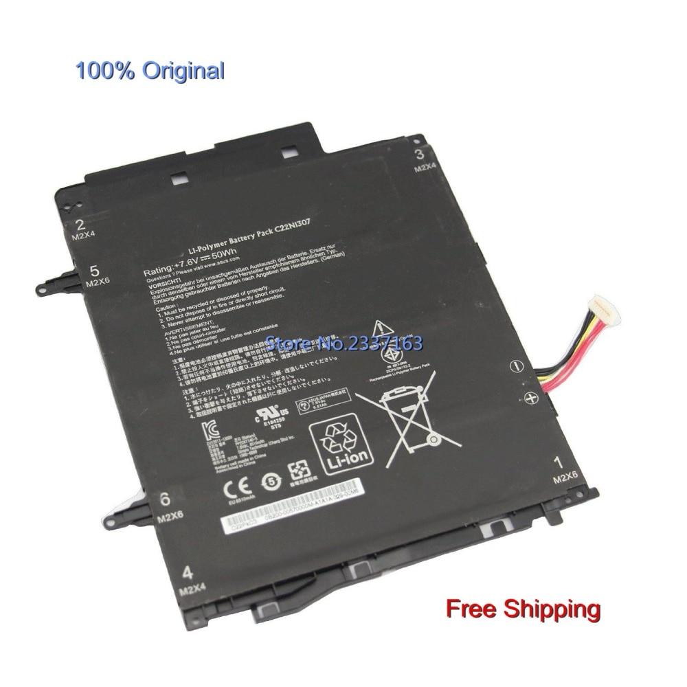 IECWANX 100% new Laptop Battery C22N1307 (7.6V 50Wh) for ASUS Transformer Book T300LA T300LA-BB31T