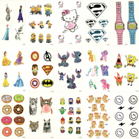 30pcs Fake Temporary waterproof Tattoo Water Trans ...
