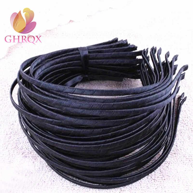GHRQX 3 pièces 5mm Tissu bandeau en métal bijoux à bricoler soi-même Accessoires Résultats et Composants