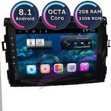 Roadlover Android 8,1 автомобильный ПК PS навигационный плеер для Toyota Previa Estima Tarago Canarado 2006-стерео GMagnitol 2 Din без DVD