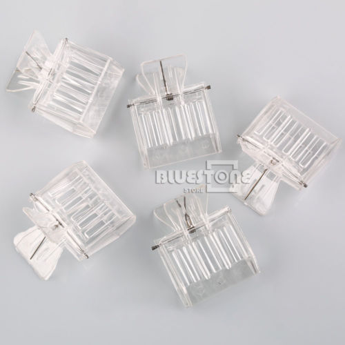 10pcs Plastic Queen Cage Clip Bee Catcher Beekeeper Beekeeping Tool Equipment free shipping 10 pcs functional queen cage bee match box moving catcher cage beekeeping tool