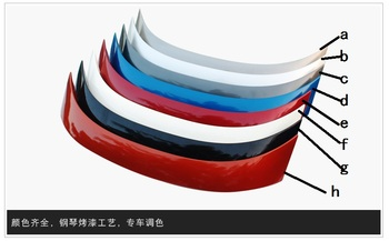 Fit for TOYOTA 14-17 new corolla   ABS  spoiler rear wing