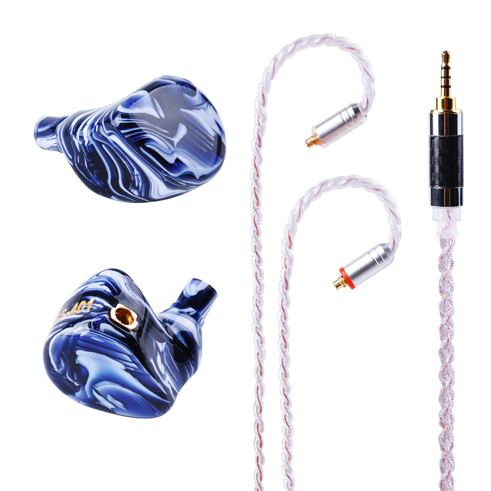 MaGaosi MGS-401 4BA Drive Unit In Ear Earphone 4 Balanced Armature HIFI In Ear Monitoring Earphone Detachable MMCX Cable