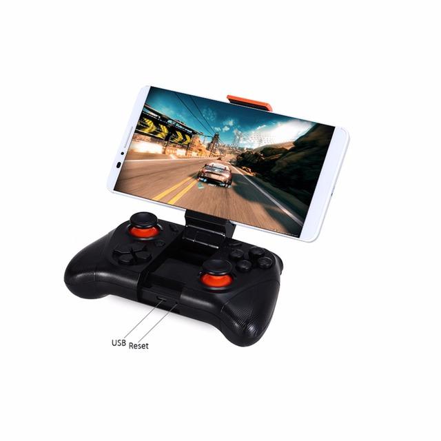 Selfie mocute gamepad controlador de juegos inalámbrico bluetooth gamepad del obturador de control remoto para iphone andriod pc ios vr gafas 3d