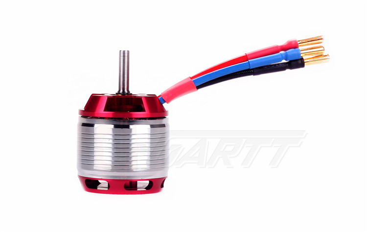 GARTT HF1600KV 1700W Brushless Motor With Steel Case For 500 Align Trex RC Helicopter gartt helicopter parts 3600kv 210 w brushless motor for 250 align trex rc helicopter red