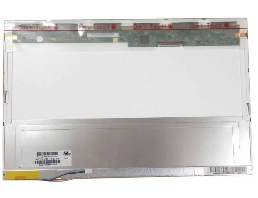 N170C3-L01 Rev C1 N170C3 L01 17.0 LCD 2 CCFL 30 PIN LCD Display Laptop Screen Panel lcd lc 32b55 lcd cv068g v2 2 with v315b1 l01 used disassemble