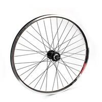 Mtb 26er Rear Wheel Disc and V Brake 32Holes Mountain Bicycle Wheel Bead Ball Hub For Screwed Freewheel Bike Back Wheel Threaded