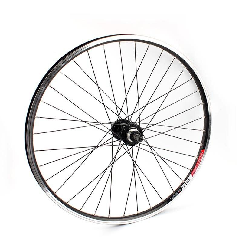 Mtb 26er Roda Traseira Disco e Freio V 32 Holes Montanha Roda de Bicicleta Bead Bola Hub Para Parafusado Roda Livre Bicicleta roda traseira Com Rosca