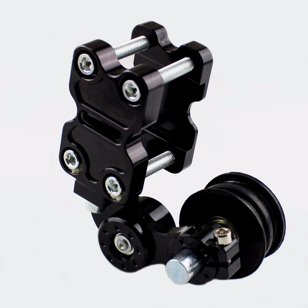 CNC Automatic Alloy Adjustable Conversion Motorcycle Chain Tensioner Universal (anti-out chain) For Street Bike ATV Motocross GL