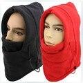Chapéu para os homens inverno QUENTE chapéu de lã quente mulheres protegido rosto gorros hat CS esporte passeios ao ar livre máscara de esqui cap snowboard 10 cores