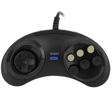 NEW Six Buttoms Gaming Game handle controller Command Pad gamepad Plastic Accessories For Sega Megadrive