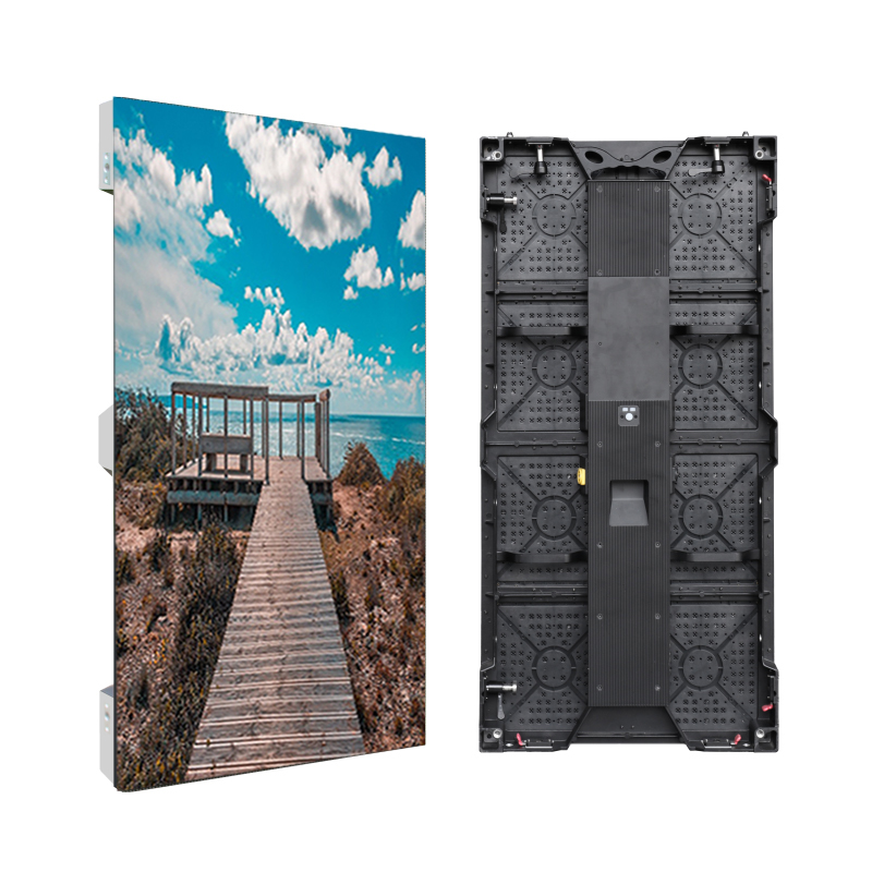 P3.91 Rgb Full Color Outdoor Rental Led Display Video Wall Use For Stage Backgriund