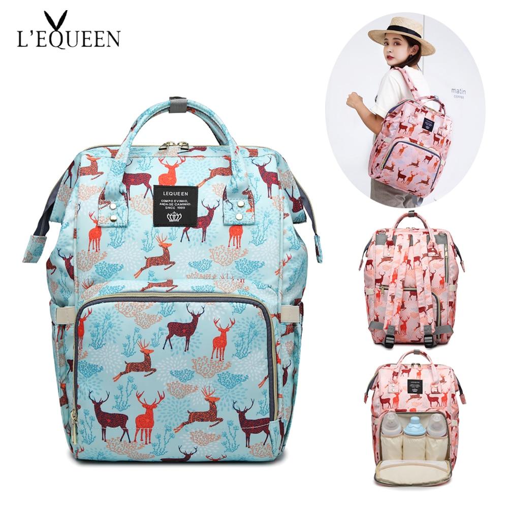anne bebek cantalari lequeen Nappy Bag Large Capacity diaper bag Bolsa Maternidade Designer Nursing Bag For Mother Baby Diaper цена и фото